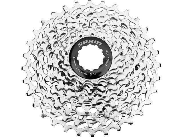 SRAM PG-1050 PowerGlide Kassett 10-delad 12-32T silver